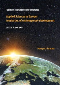 Applied Sciences in Europe tendencies of contemporary development