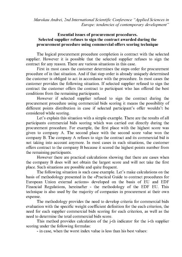 Applied Sciences in Europe tendencies of contemporary development_2_01en
