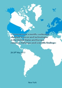 Applied Sciences and technologies in the United States and Europe common challenges and scientific findings